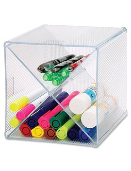 sparco-storage-organizer,-x-cube,-6-x-6-x-6-inches,-clear-(spr82979) by sparco