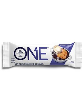 one-protein-bar,-blueberry-cobbler,-212-oz-(12-pack),-gluten-free-protein-bar-with-high-protein-(20g)-and-low-sugar-(1g),-guilt-free-snacking-for-healthy-diets by one