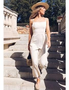 backless-linen-culotte-jumpsuit---sand by pretty-lavish