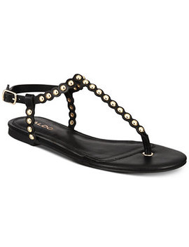 balata-studded-thong-flat-sandals by aldo