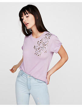 express-one-eleven-gem-embellished-girlfriend-tee by express