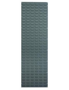 akro-mils-30118-louvered-steel-panel-for-mounting-akrobins,-18-inch-width-by-61-inch-height,-grey by akro-mils