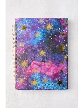 galaxy-spiral-bound-notebook by urban-outfitters