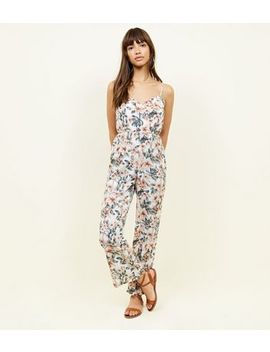 mela-white-tropical-floral-wide-leg-jumpsuit by new-look