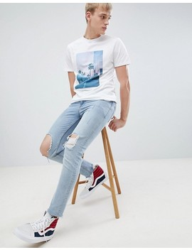 new-look-t-shirt-with-la-city-print-in-white by new-look