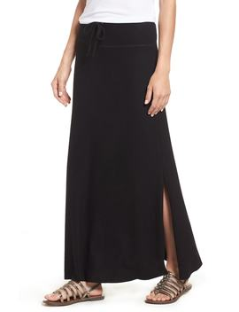 fleece-maxi-skirt by gibson