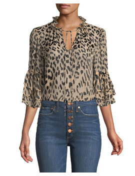 julius-leopard-print-button-front-top by alice-+-olivia