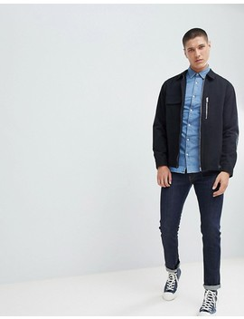 new-look-regular-fit-denim-shirt-in-light-blue-wash by new-look
