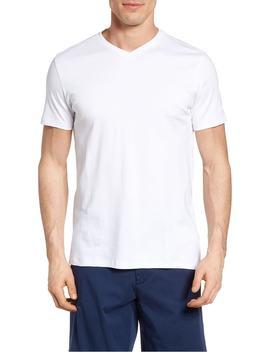 georgia-regular-fit-v-neck-t-shirt by robert-barakett