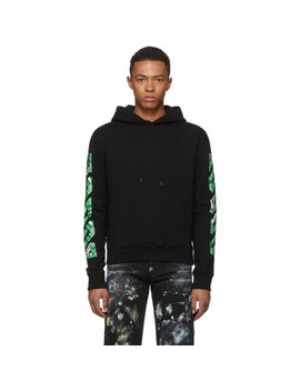 ssense-exclusive-black-3d-diagonal-hoodie by off-white