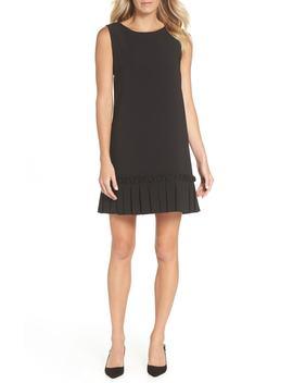 pleated-shift-dress by tahari