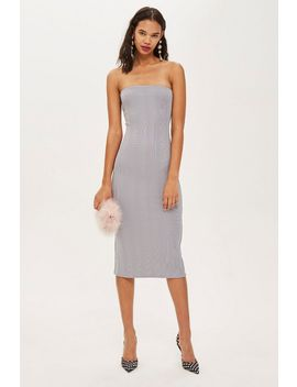 bandage-midi-bandeau-dress by topshop