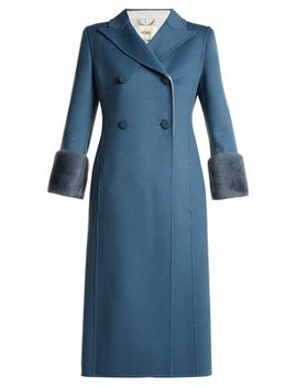 double-breasted-wool-coat by fendi
