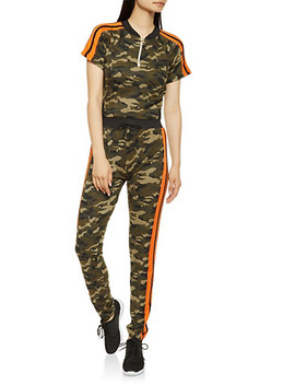 camo-activewear-tee-and-pants-set by rainbow