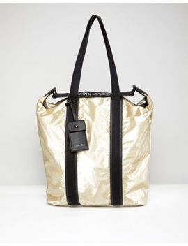 calvin-klein-metallic-shopper-bag by calvin-klein