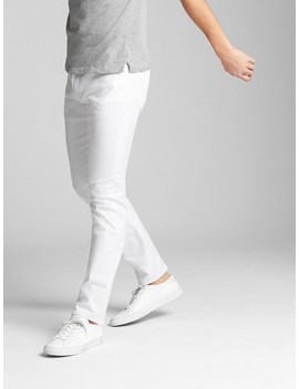 Ever White Jeans In Slim Fit With Gap Flex by Gap
