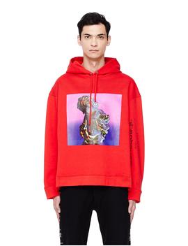 red-printed-hoodie by raf-simons