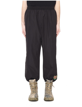 embroidered-striped-track-pants by yeezy