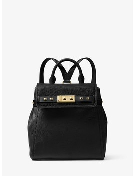 Addison Small Pebbled Leather Backpack by Michael Michael Kors