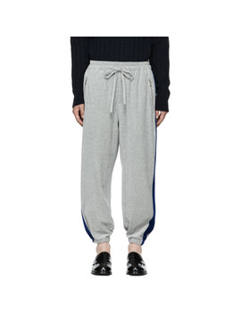 grey-&-blue-baggy-sweatpants by 31-phillip-lim