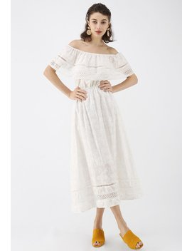 free-my-heart-boho-off-shoulder-embroidered-midi-dress by chicwish