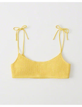 smocked-bralette-bikini-top by abercrombie-&-fitch