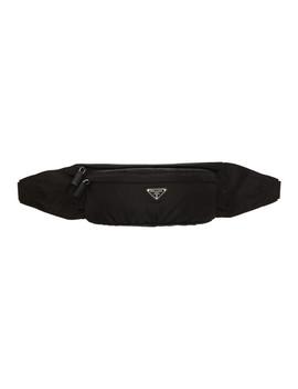 black-small-montagna-fanny-pack by prada