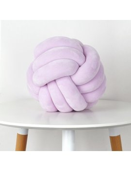 mainstays-medium-decorative-infinity-knot-pillow,-lavender,-multiple-color by mainstays
