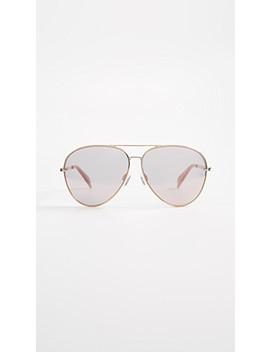runway-aviator-sunglasses by rag-&-bone