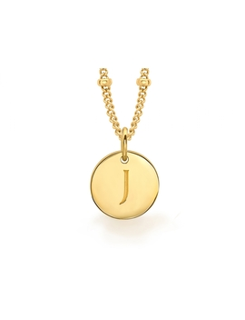 gold-j-initial-necklace by missoma