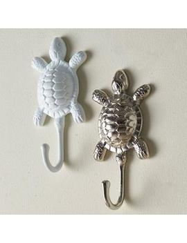 Turtle Towel Hooks by The Company Store