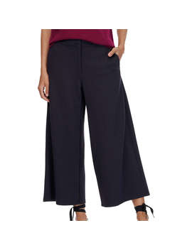 brora-tailored-jersey-cropped-trousers,-french-navy by brora