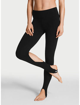 anytime-cotton-cutout-stirrup-legging by victorias-secret