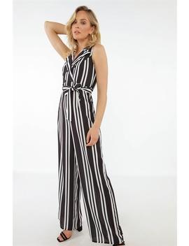 striped-jumpsuit by chiquelle
