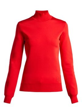 high-neck-knit-top by givenchy
