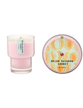 sorbet-glass-candle-–-melon-macaron by illume