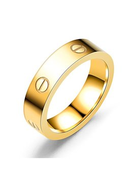 dubeauty-love-ring-lifetime-titanium-stainless-steel-couples-engagement-engraved-bands-gold-size-5-10 by dubeauty