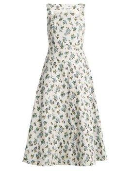 polly-floral-jacquard-dress by erdem