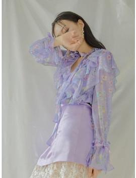 amaryllis-blouse-light-purple by capricieux