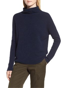 cashmere-directional-rib-mock-neck-sweater by nordstrom-signature