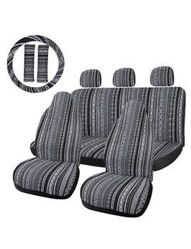 10pcs-multi-color-baja-blanket-durable-bucket-car-seat-cover-protector-for-automotive by unique-bargains