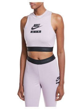 high-neck-racerback-fitted-crop-top by nike