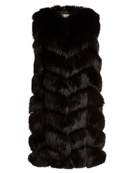 fox-fur-and-leather-vest by yves-salomon