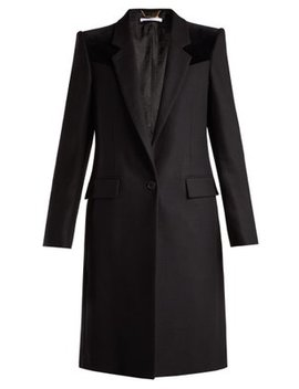 velvet-trimmed-wool-blend-coat by givenchy