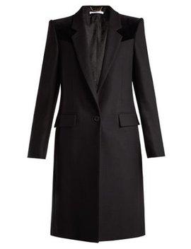 velvet-trimmed-wool-blend-coat by givenchy