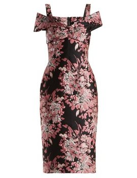 floral-jacquard-dress by dolce-&-gabbana