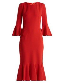fluted-cady-dress by dolce-&-gabbana