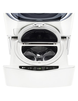 lg-sidekick-1-cu-ft-27-in-pedestal-washer-(white) by lowes