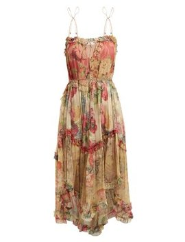 melody-floating-floral-print-silk-dress by zimmermann
