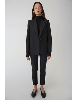 Single Breasted Jacket Black by Acne Studios